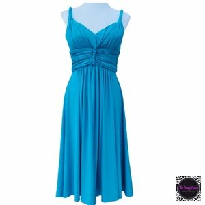 Suzi Chin for Maggie Boutique Grecian Dress